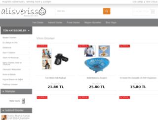 alisverisso.com screenshot