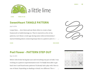 alittlelime.blogspot.com.au screenshot