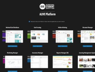 aliveplatform.com screenshot