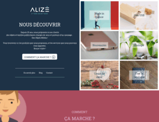 alizecommunication.fr screenshot