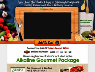 alkalinecook.com screenshot