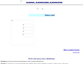 alkoholizam.com screenshot