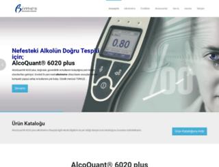 alkolmetre.org screenshot