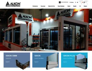 alkoncambalkon.com screenshot