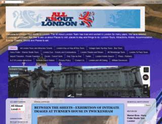 all-about-london.com screenshot