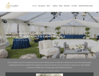 allaboutevents.com screenshot