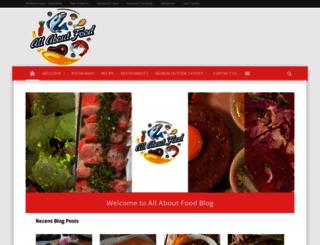 allaboutfoodblog.com screenshot