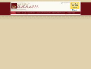 allaboutguadalajara.com screenshot