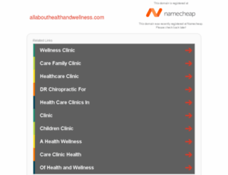 allabouthealthandwellness.com screenshot