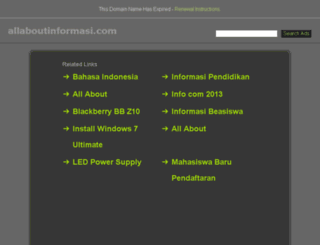 allaboutinformasi.blogspot.com screenshot