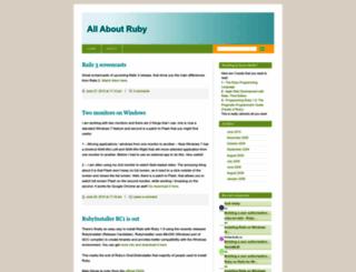 allaboutruby.wordpress.com screenshot