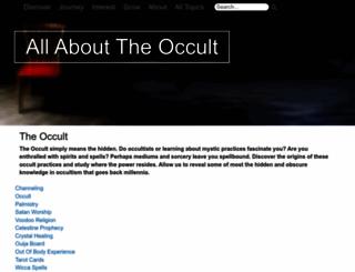 allabouttheoccult.org screenshot