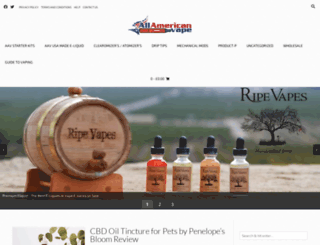 allamericanvape.com screenshot