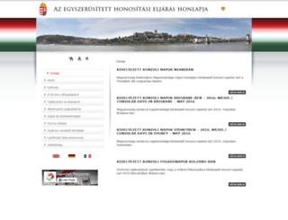 allampolgarsag.gov.hu screenshot