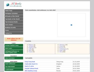allbanks.org screenshot