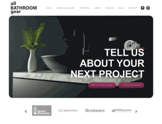 allbathroomgear.com.au screenshot