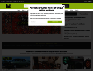 allbids.com.au screenshot