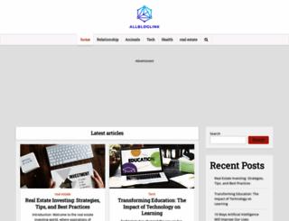 allbloglink.com screenshot