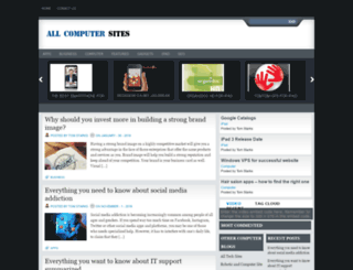 allcomputersites.com screenshot