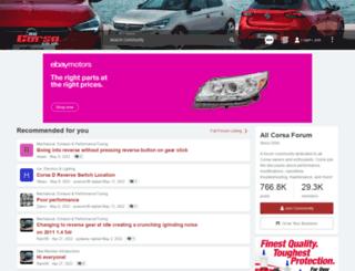 allcorsa.co.uk screenshot