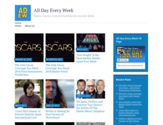 alldayeveryweek.com screenshot