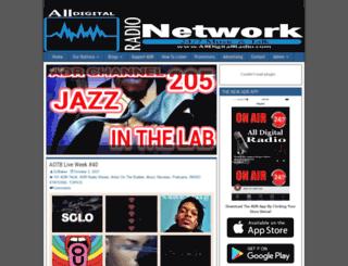 alldigitalradio.com screenshot