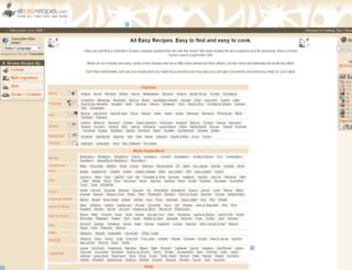 alleasyrecipes.com screenshot