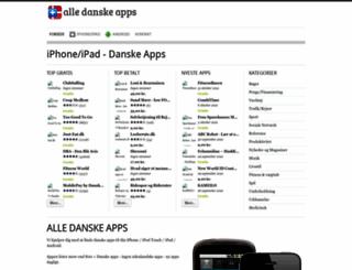 alledanskeapps.dk screenshot