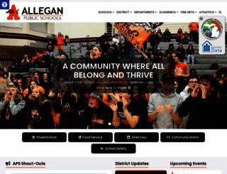 alleganps.org screenshot