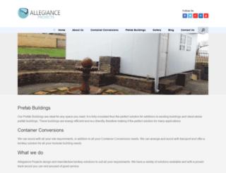 allegianceprojects.com screenshot