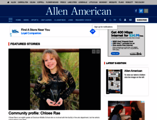 allenamerican.com screenshot