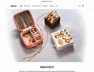 allencoco.com screenshot
