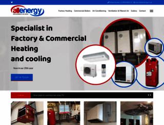 allenergy.co.uk screenshot