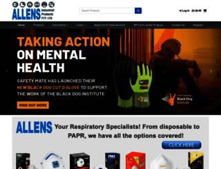 allensindustrial.com.au screenshot