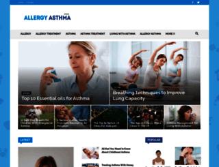 allergyasthmazone.com screenshot