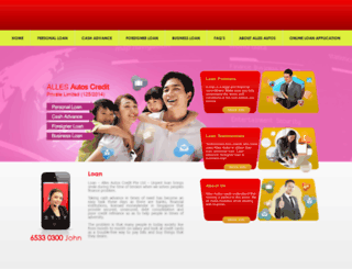 allesautoscredit.com screenshot