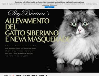 allevamentosiberiani.it screenshot