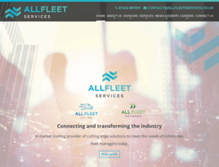 allfleetservices.co.uk screenshot