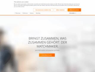 allgeier-experts.com screenshot
