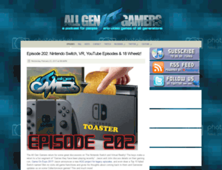 allgengamers.com screenshot