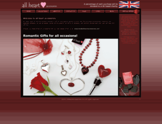 allheartaccessories.com screenshot