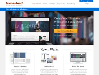 alliancea1.homestead.com screenshot