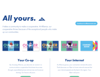 alliancecom.net screenshot
