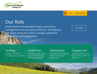 allianceforsustainableenergy.org screenshot