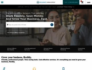 alliancevirtualoffices.com screenshot
