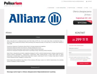 allianz.info.pl screenshot