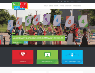 alliedartsokc.com screenshot