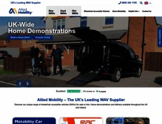 alliedmobility.com screenshot