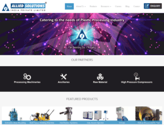 alliedsolutions.com screenshot