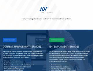 alliedvaughn.com screenshot